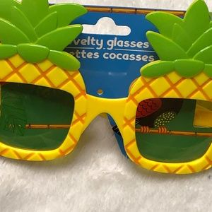 Accessories - Pineapple Sunglasses Tropical Beach Party Costume